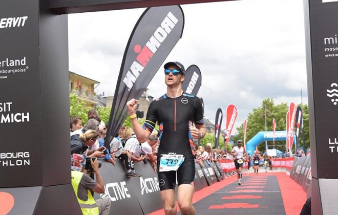 70.3 Luxembourg finish line
