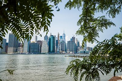 Manhattan running routes - Brooklyn Bridge Park