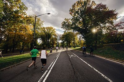 Central Park and Manhattan running routes