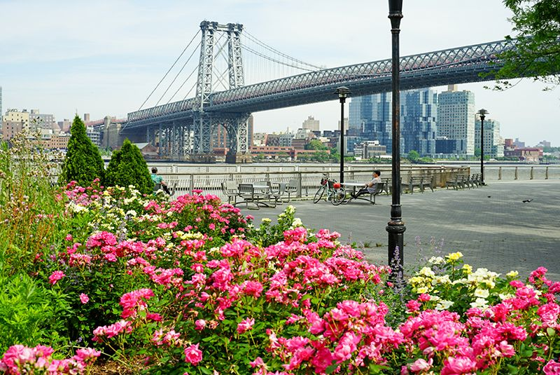 Manhattan running routes - East River Promenade