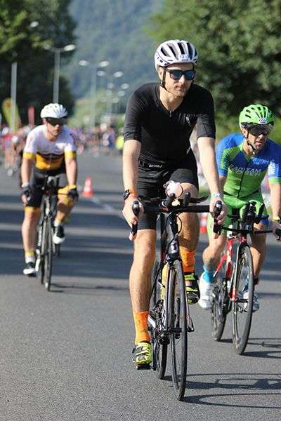 Ironman Austria bike start