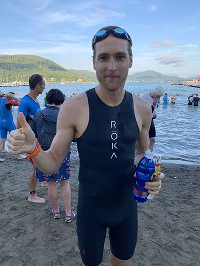 My first Ironman race - warm up