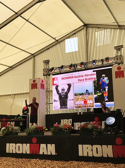 Ironman race briefing
