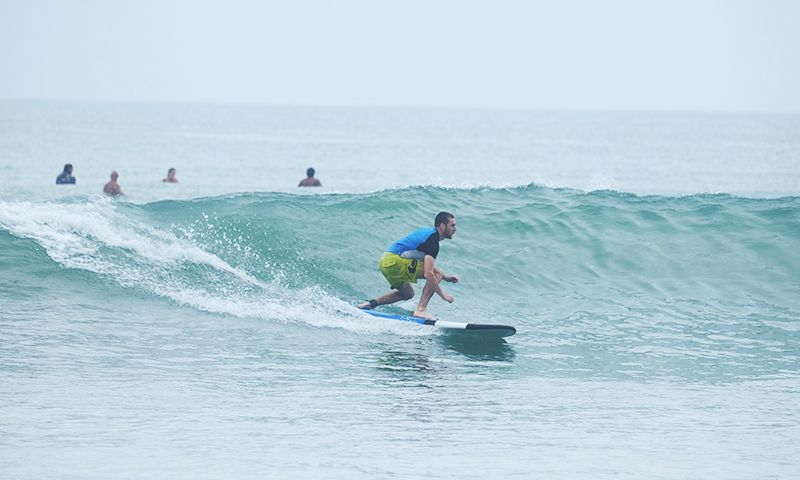 Surfing is one of the most adventurous things to do in Bali