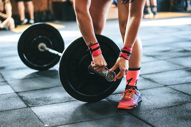 strength training is a great way to become a better athlete