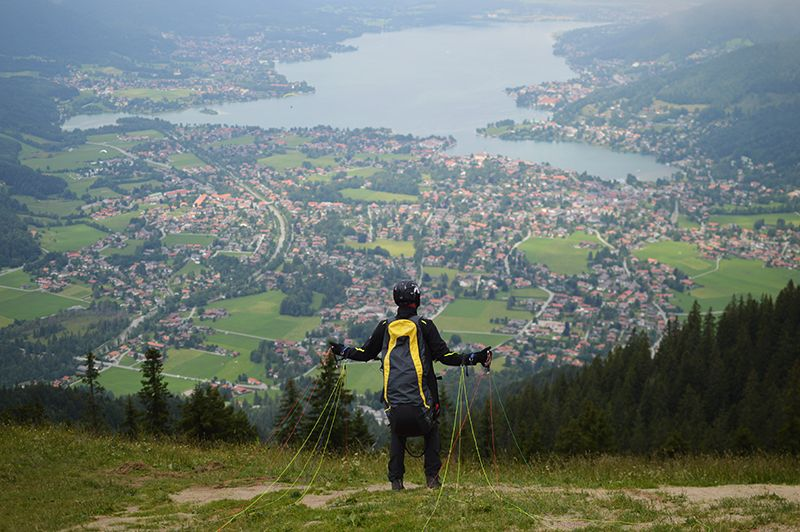 Hiking in Bavarian Alps and Tegernsee