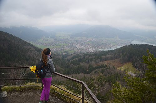 Hiking in Bavarian Alps and around Tegernsee