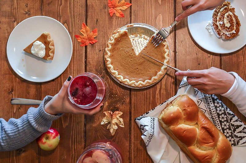 Avoid gaining weight during holidays