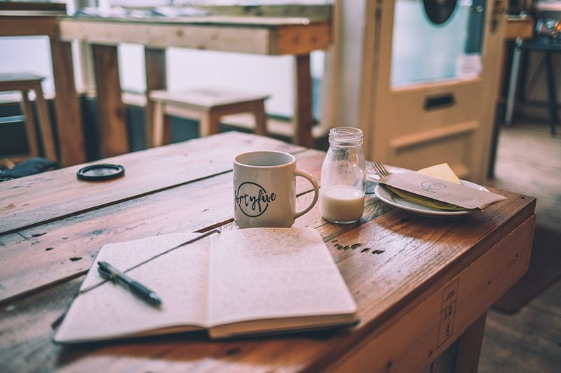journal to reduce mental stress