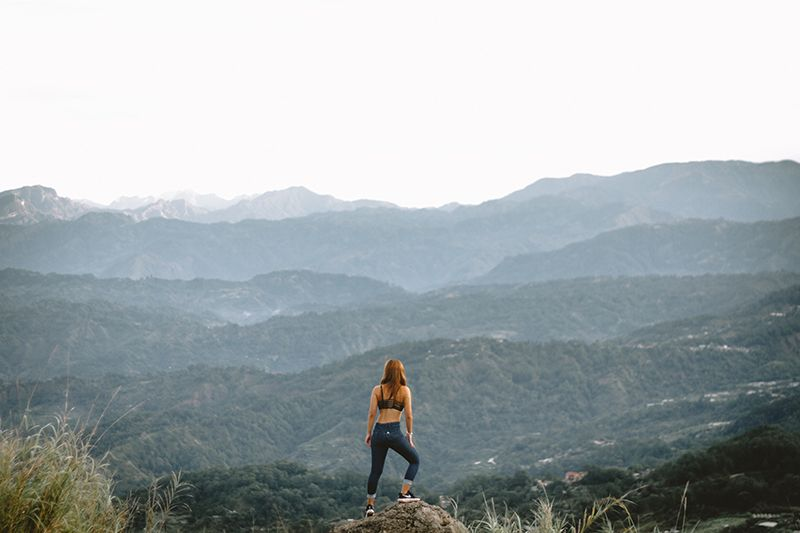 reduce mental stress by spending time outside