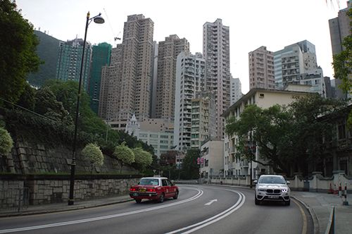 Albert Road in Hong Kong