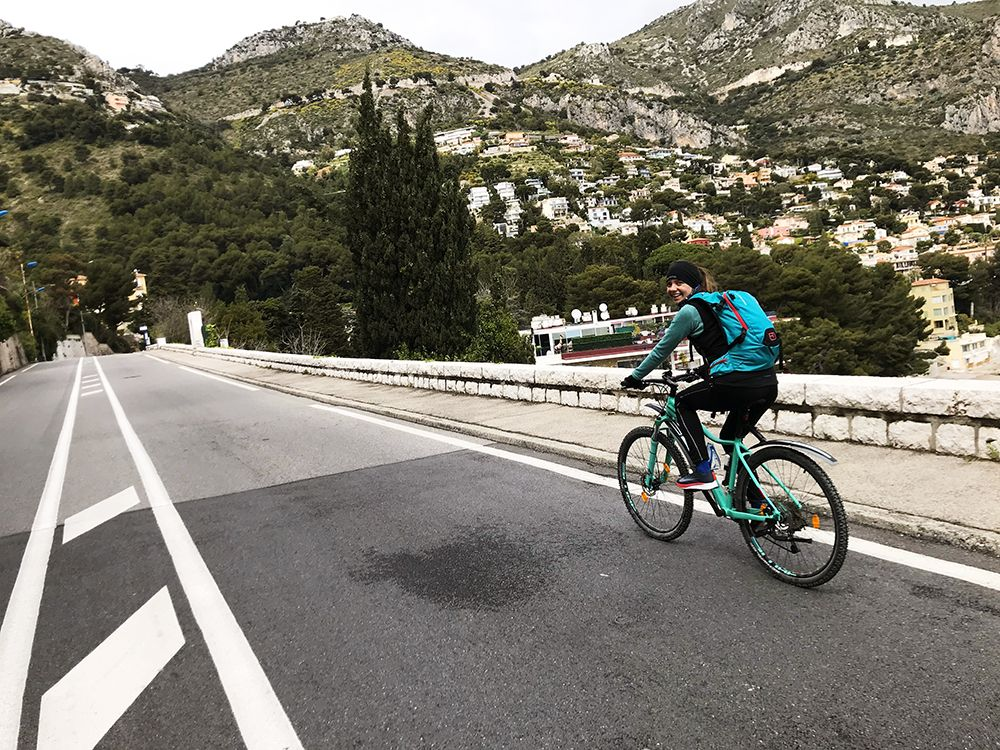 Cycling in French Riviera