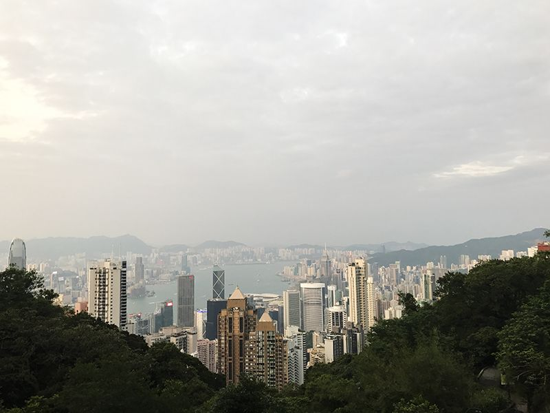 The view from Victoria Peak
