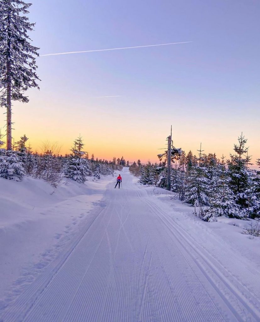 Cross country skiing in Bavaria