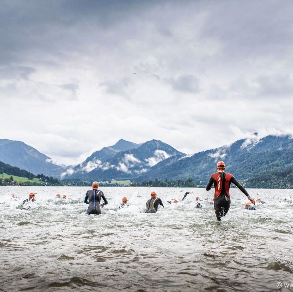 Open water swimming in Bavaria
