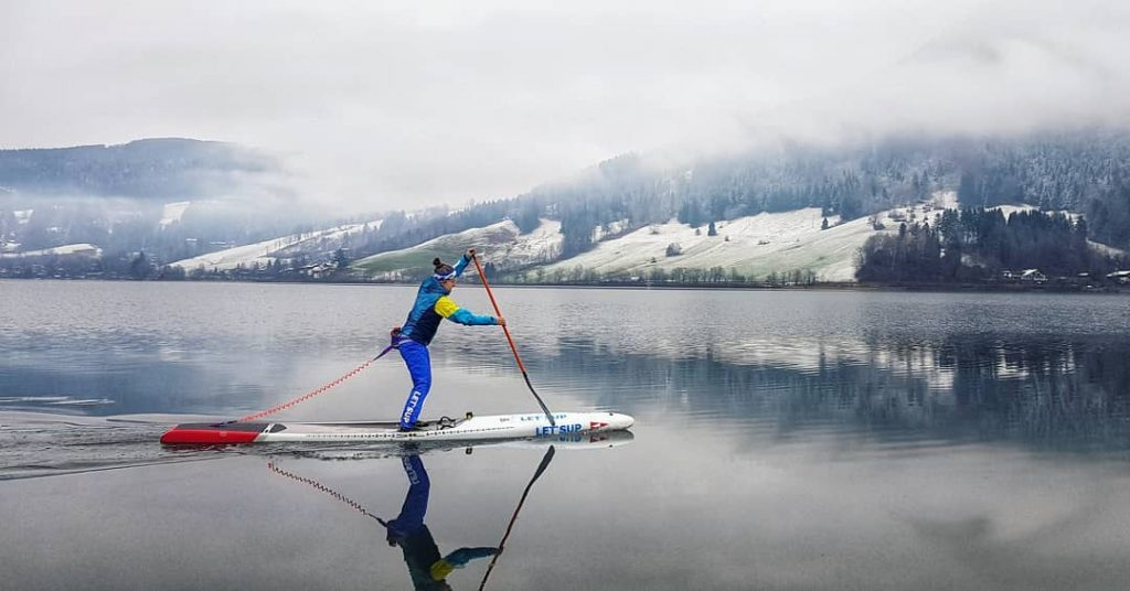 Stand Up Paddling in Bavaria
