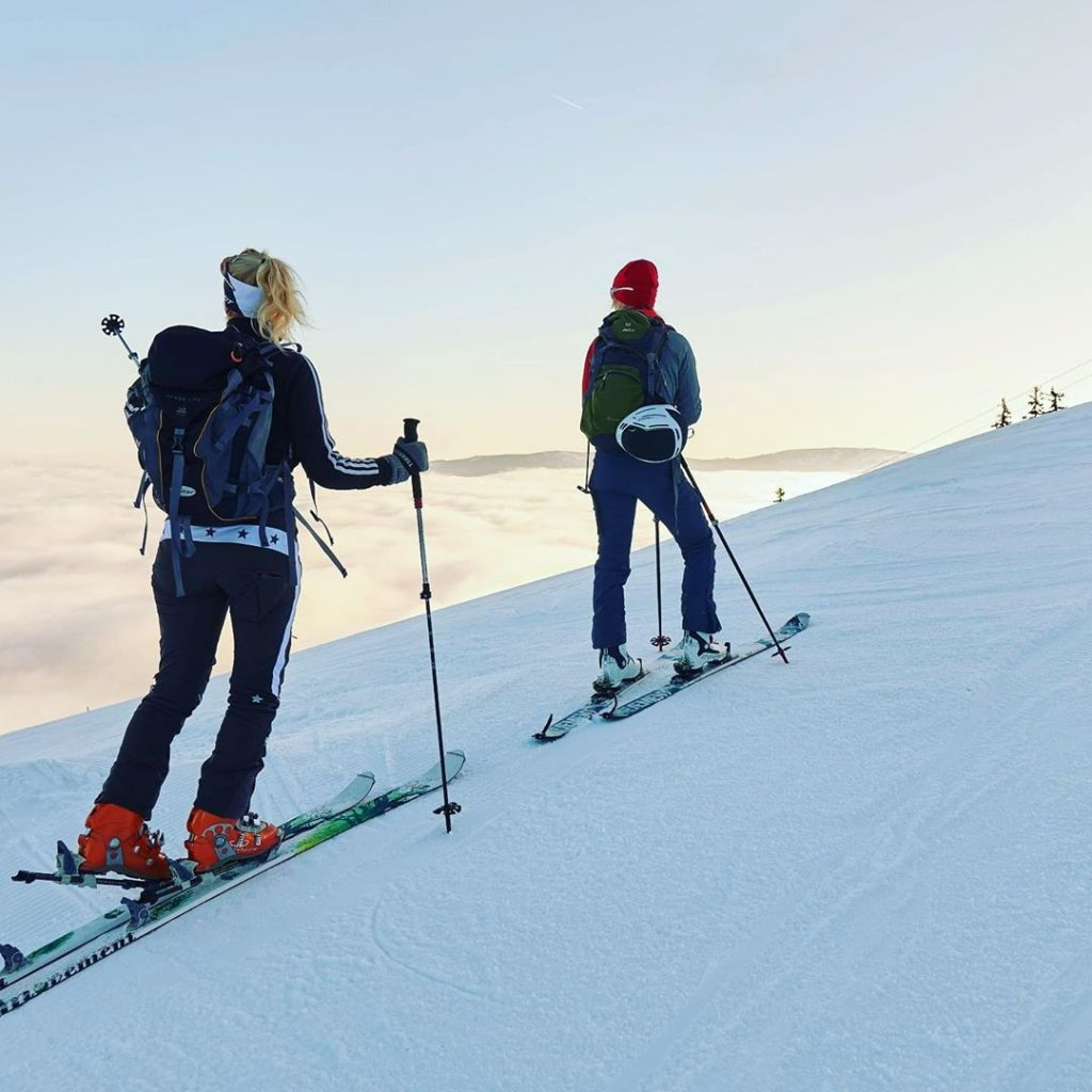 ski touring in Bavarian Alps