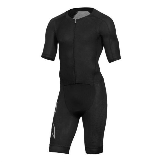 2XU Compression Full-Zip Short Sleeve Trisuit