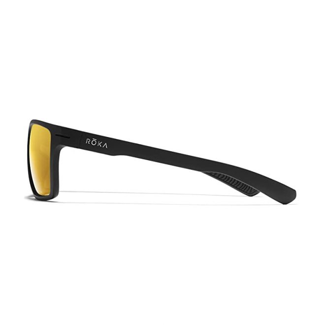 Roka Kona sunglasses gold side