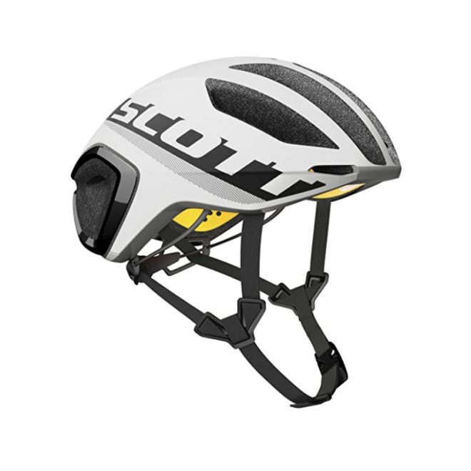 scott cadence plus helmet white