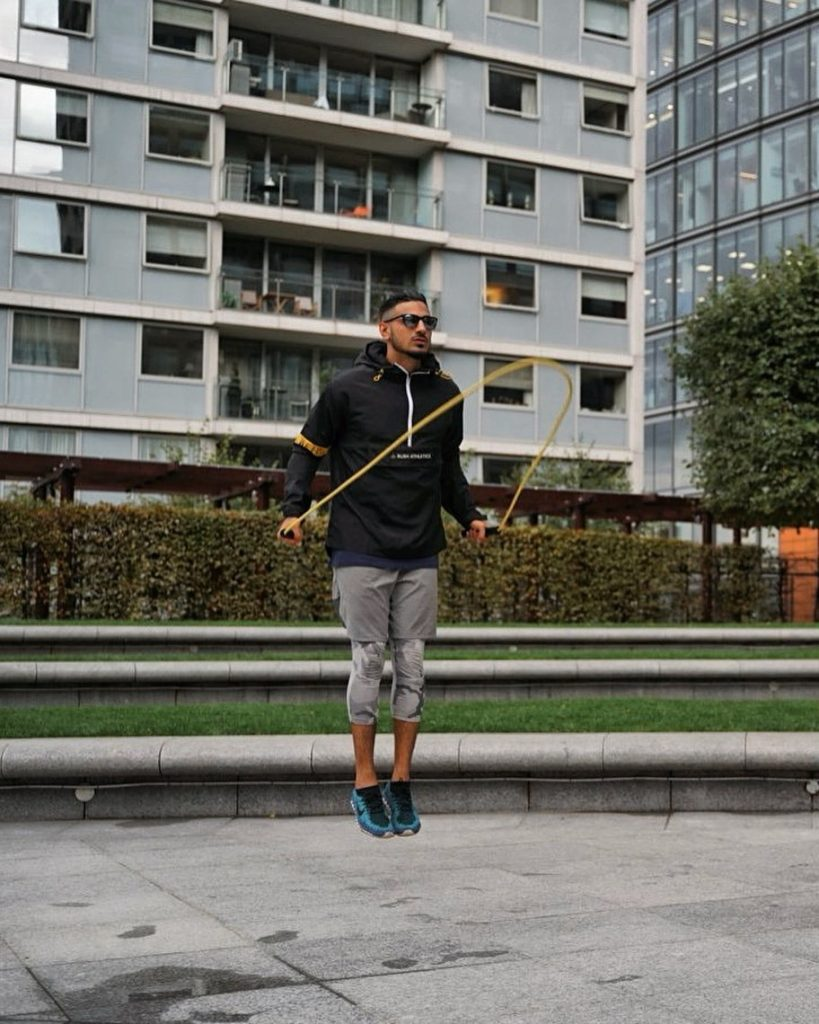 skipping rope is one of the great strength building workouts