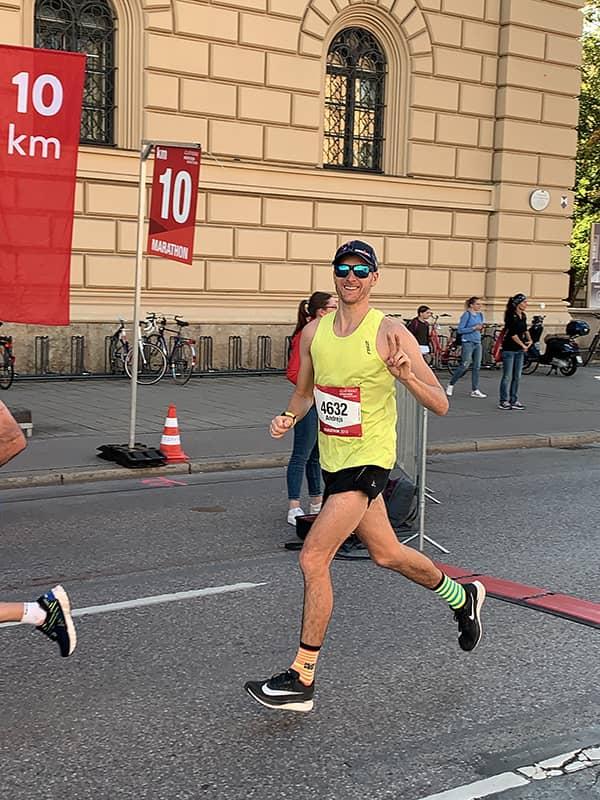 10K of Munchen marathon