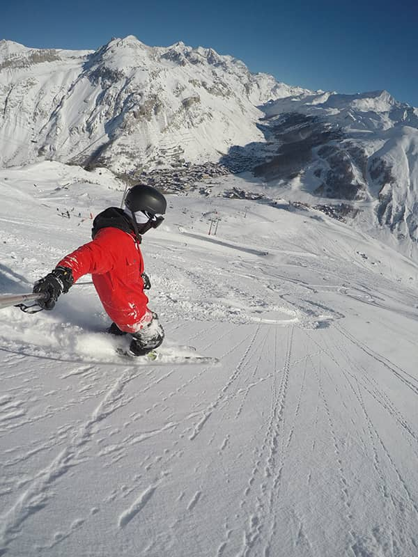 Skiing is great for active recovery