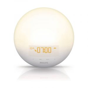 Philips wakeup light alarm clock
