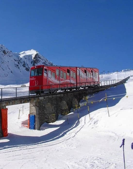 Davos funiculaire tram